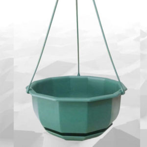 Hanging Pot With Tray – 9 Inches