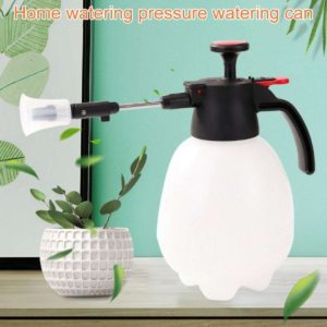 2L Pressure Sprayer with Rotating Nozzle for Longer Spray – Fancy Pressurized Kettle Can for Home Gardeners – White (IMPORTED)