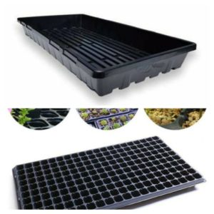 200 HOLES SEEDLING TRAY WITH BOTTOM WATERING TRAY (IMPORTED QUALITY)
