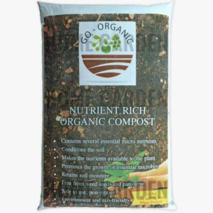 Organic Compost and Multipurpose Fertilizer for Plants, Lawn and Garden (2 KG BAG)
