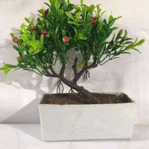 1Pc Artificial Potted Plant Home Decor (length 7 Width 7 Height 7)